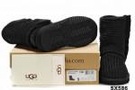 5819高筒靴潮黑色