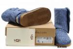5819高筒靴潮蓝色