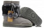 5899 中筒靴灰色