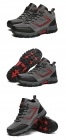 高帮防水登山鞋户外运动鞋爸爸鞋中老年运动鞋男软底防滑旅游鞋D710,尺码39-45